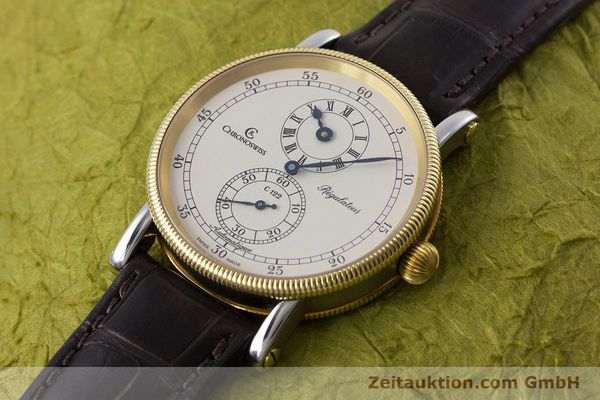 gebrauchte Luxusuhr Chronoswiss Regulateur Stahl / Gold Automatik Kal. 122 Ref. CH1222  | 153191 01