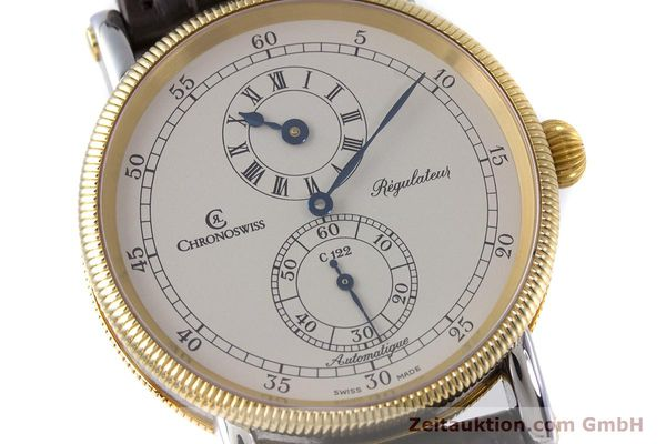 gebrauchte Luxusuhr Chronoswiss Regulateur Stahl / Gold Automatik Kal. 122 Ref. CH1222  | 153191 02