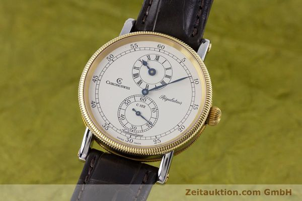 gebrauchte Luxusuhr Chronoswiss Regulateur Stahl / Gold Automatik Kal. 122 Ref. CH1222  | 153191 04