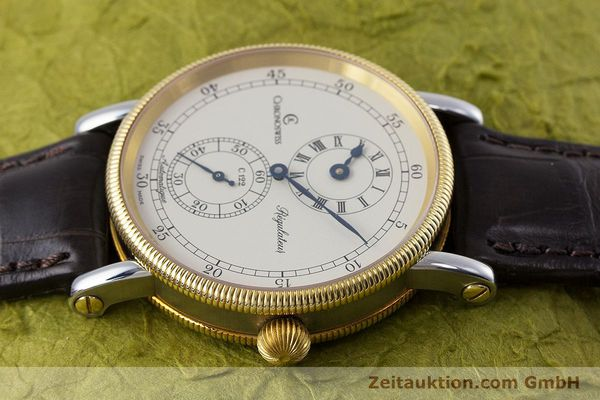 gebrauchte Luxusuhr Chronoswiss Regulateur Stahl / Gold Automatik Kal. 122 Ref. CH1222  | 153191 05
