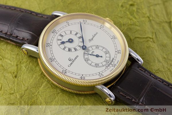 gebrauchte Luxusuhr Chronoswiss Regulateur Stahl / Gold Automatik Kal. 122 Ref. CH1222  | 153191 16