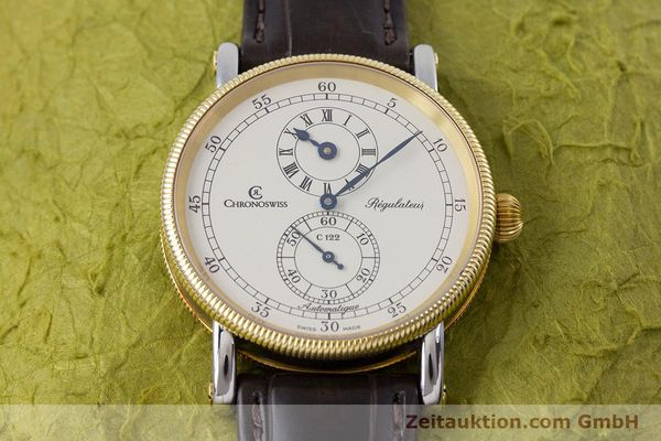 gebrauchte Luxusuhr Chronoswiss Regulateur Stahl / Gold Automatik Kal. 122 Ref. CH1222  | 153191 17