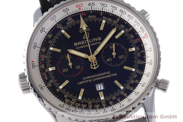 Used luxury watch Breitling Chrono-Matic chronograph steel automatic Kal. B41 ETA 2892A2 Ref. A41350 LIMITED EDITION | 153194 02