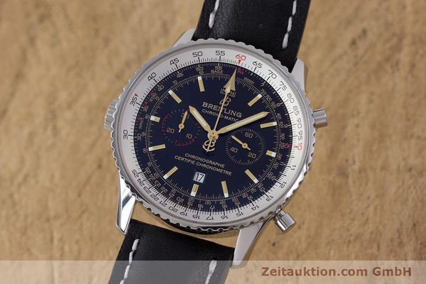 Used luxury watch Breitling Chrono-Matic chronograph steel automatic Kal. B41 ETA 2892A2 Ref. A41350 LIMITED EDITION | 153194 04