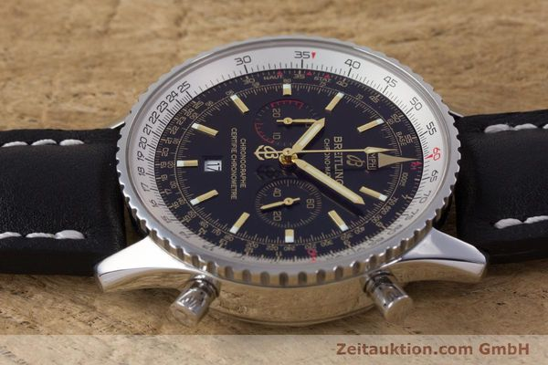 Used luxury watch Breitling Chrono-Matic chronograph steel automatic Kal. B41 ETA 2892A2 Ref. A41350 LIMITED EDITION | 153194 05