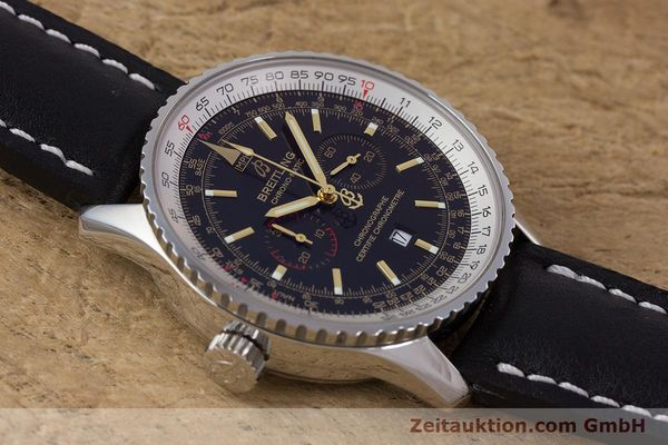 Used luxury watch Breitling Chrono-Matic chronograph steel automatic Kal. B41 ETA 2892A2 Ref. A41350 LIMITED EDITION | 153194 19