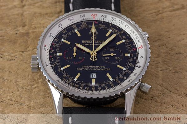 Used luxury watch Breitling Chrono-Matic chronograph steel automatic Kal. B41 ETA 2892A2 Ref. A41350 LIMITED EDITION | 153194 20
