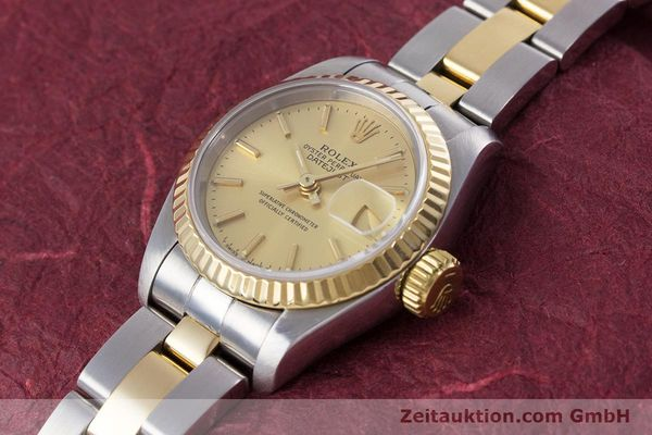 Used luxury watch Rolex Lady Datejust steel / gold automatic Kal. 2135 Ref. 69173  | 153196 01