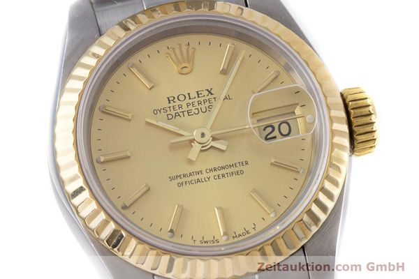 Used luxury watch Rolex Lady Datejust steel / gold automatic Kal. 2135 Ref. 69173  | 153196 02