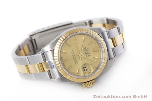 Used luxury watch Rolex Lady Datejust steel / gold automatic Kal. 2135 Ref. 69173  | 153196 03