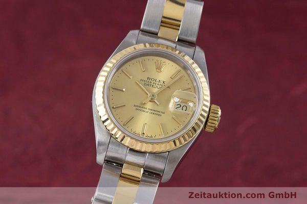 Used luxury watch Rolex Lady Datejust steel / gold automatic Kal. 2135 Ref. 69173  | 153196 04