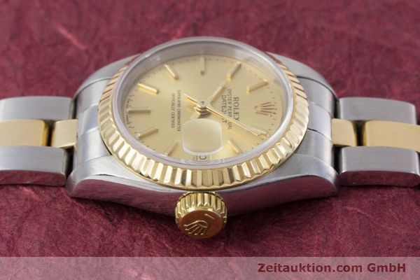 Used luxury watch Rolex Lady Datejust steel / gold automatic Kal. 2135 Ref. 69173  | 153196 05