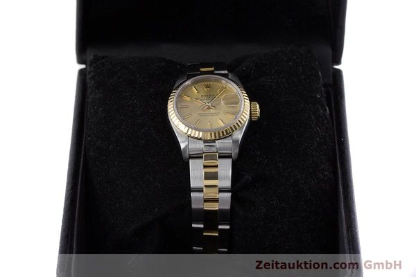 Used luxury watch Rolex Lady Datejust steel / gold automatic Kal. 2135 Ref. 69173  | 153196 07