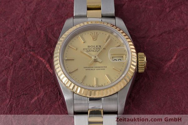 Used luxury watch Rolex Lady Datejust steel / gold automatic Kal. 2135 Ref. 69173  | 153196 15