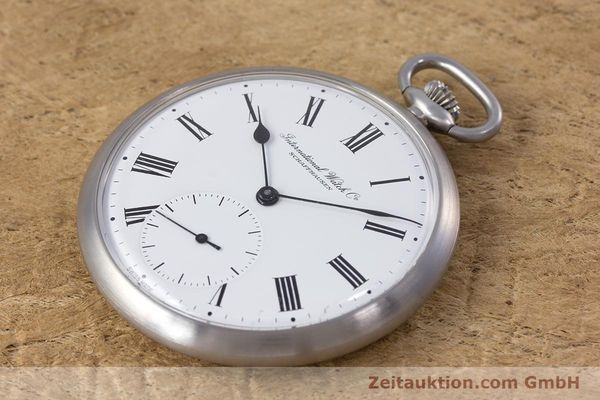 Used luxury watch IWC Pocket Watch steel manual winding Kal. 972 Ref. 5301  | 153209 01
