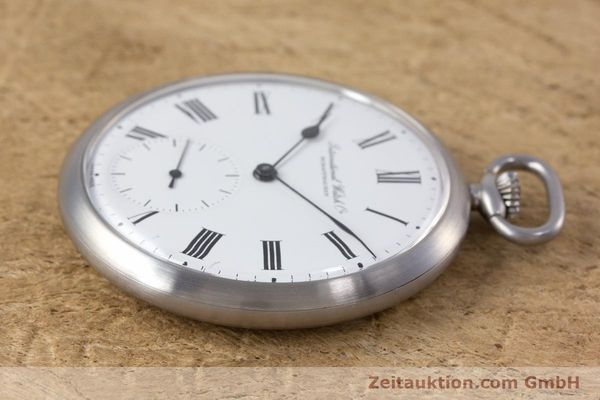 Used luxury watch IWC Pocket Watch steel manual winding Kal. 972 Ref. 5301  | 153209 03