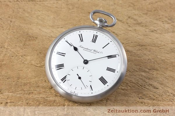 Used luxury watch IWC Pocket Watch steel manual winding Kal. 972 Ref. 5301  | 153209 04