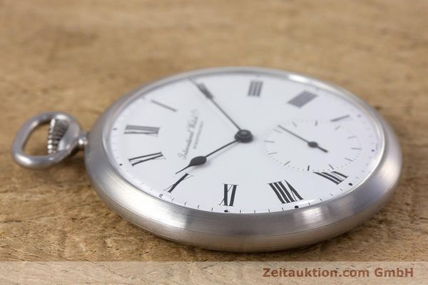 Used luxury watch IWC Pocket Watch steel manual winding Kal. 972 Ref. 5301  | 153209 05