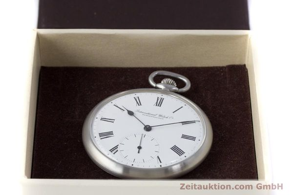 Used luxury watch IWC Pocket Watch steel manual winding Kal. 972 Ref. 5301  | 153209 07