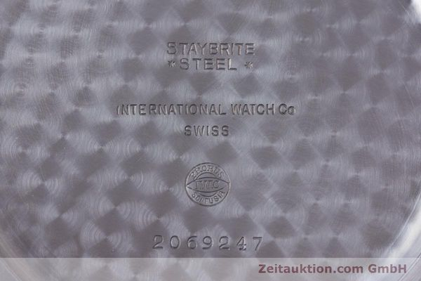 Used luxury watch IWC Pocket Watch steel manual winding Kal. 972 Ref. 5301  | 153209 09