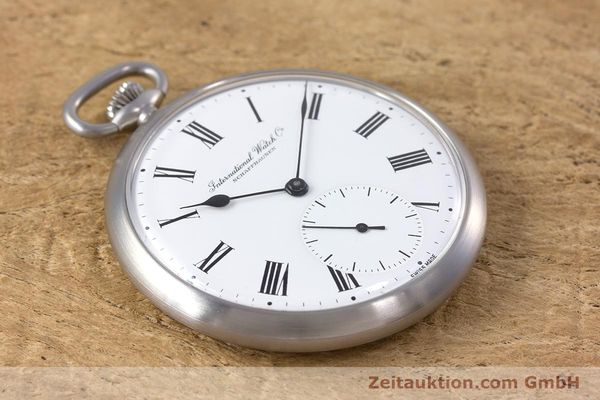 Used luxury watch IWC Pocket Watch steel manual winding Kal. 972 Ref. 5301  | 153209 13