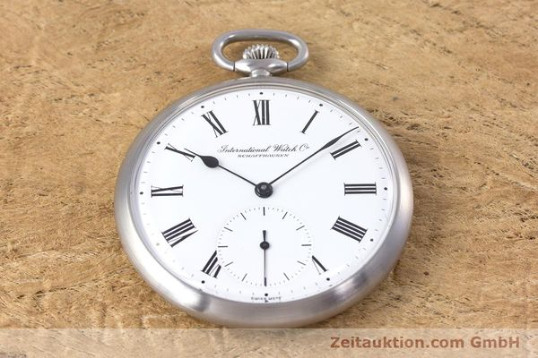Used luxury watch IWC Pocket Watch steel manual winding Kal. 972 Ref. 5301  | 153209 14