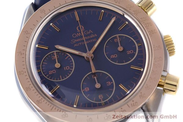 Used luxury watch Omega Speedmaster chronograph steel / gold automatic Kal. 1190 ETA 2890-2  | 153228 02