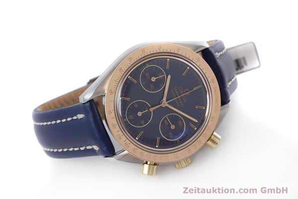 Used luxury watch Omega Speedmaster chronograph steel / gold automatic Kal. 1190 ETA 2890-2  | 153228 03
