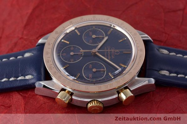 Used luxury watch Omega Speedmaster chronograph steel / gold automatic Kal. 1190 ETA 2890-2  | 153228 05