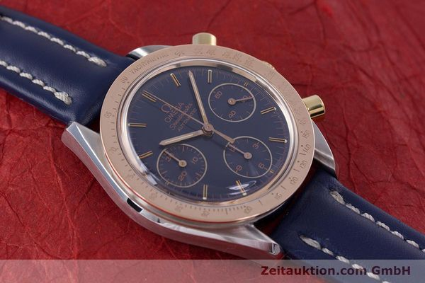 Used luxury watch Omega Speedmaster chronograph steel / gold automatic Kal. 1190 ETA 2890-2  | 153228 13