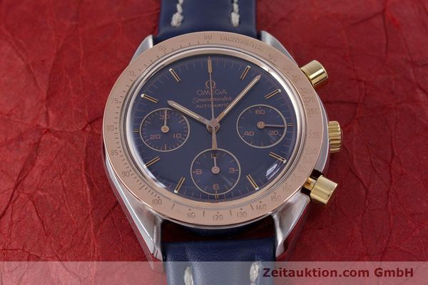Used luxury watch Omega Speedmaster chronograph steel / gold automatic Kal. 1190 ETA 2890-2  | 153228 14