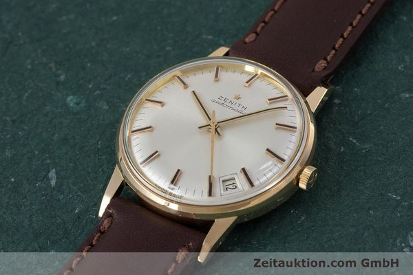 Used luxury watch Zenith * 18 ct gold automatic Kal. 2542PC  | 153229 01