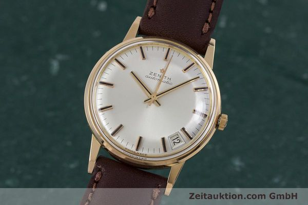 Used luxury watch Zenith * 18 ct gold automatic Kal. 2542PC  | 153229 04