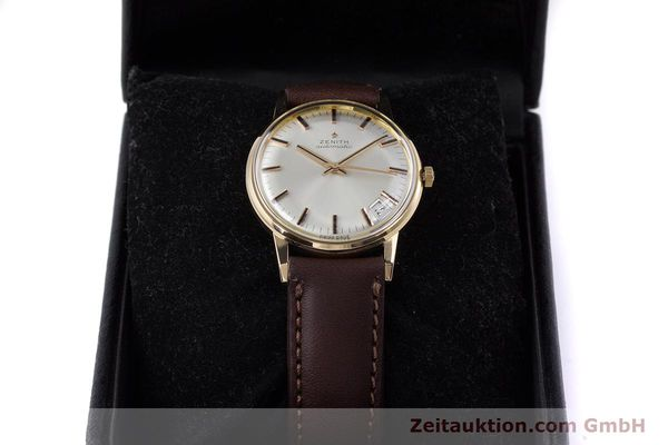 Used luxury watch Zenith * 18 ct gold automatic Kal. 2542PC  | 153229 07