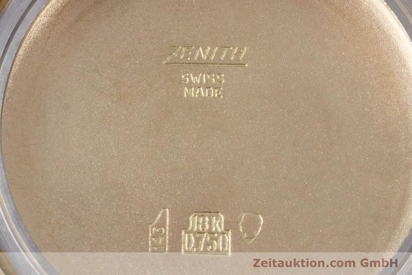 Used luxury watch Zenith * 18 ct gold automatic Kal. 2542PC  | 153229 09