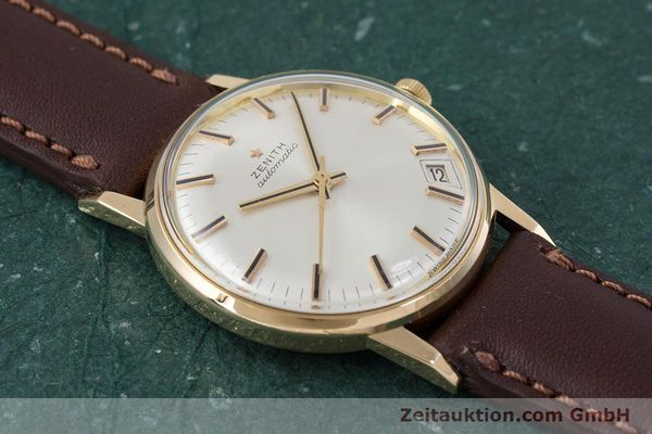 Used luxury watch Zenith * 18 ct gold automatic Kal. 2542PC  | 153229 13