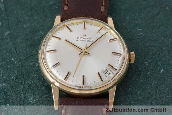 Used luxury watch Zenith * 18 ct gold automatic Kal. 2542PC  | 153229 14