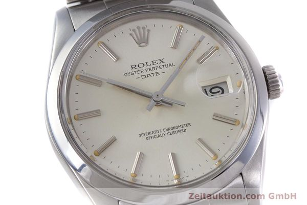 Used luxury watch Rolex Date steel automatic Kal. 3035 Ref. 1500  | 153232 02