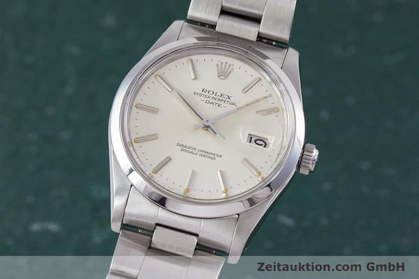 Used luxury watch Rolex Date steel automatic Kal. 3035 Ref. 1500  | 153232 04