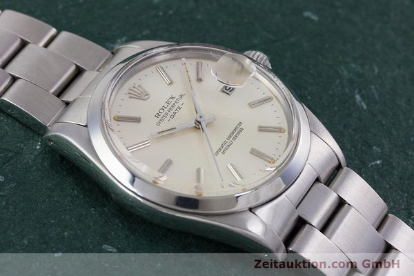 Used luxury watch Rolex Date steel automatic Kal. 3035 Ref. 1500  | 153232 14