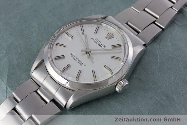 Used luxury watch Rolex Oyster Perpetual steel automatic Kal. 1570 Ref. 1002  | 153233 01