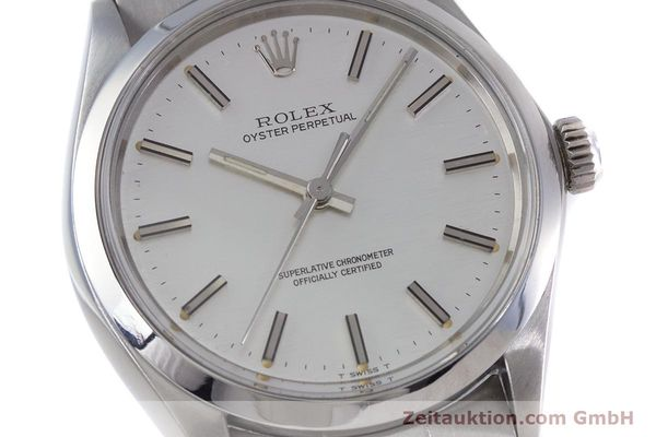 Used luxury watch Rolex Oyster Perpetual steel automatic Kal. 1570 Ref. 1002  | 153233 02