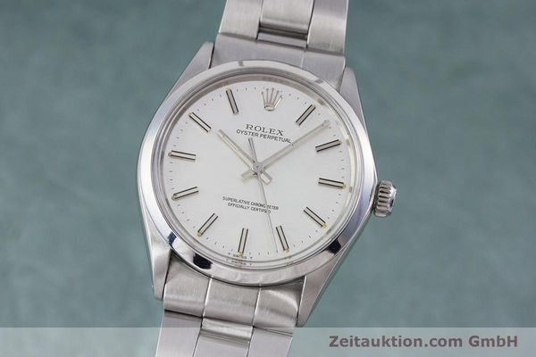Used luxury watch Rolex Oyster Perpetual steel automatic Kal. 1570 Ref. 1002  | 153233 04