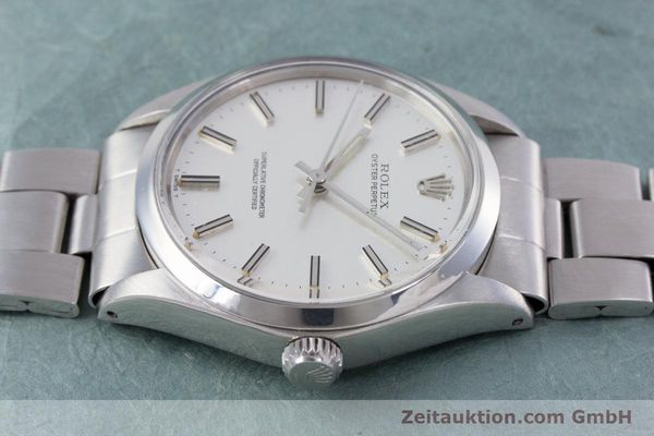 Used luxury watch Rolex Oyster Perpetual steel automatic Kal. 1570 Ref. 1002  | 153233 05