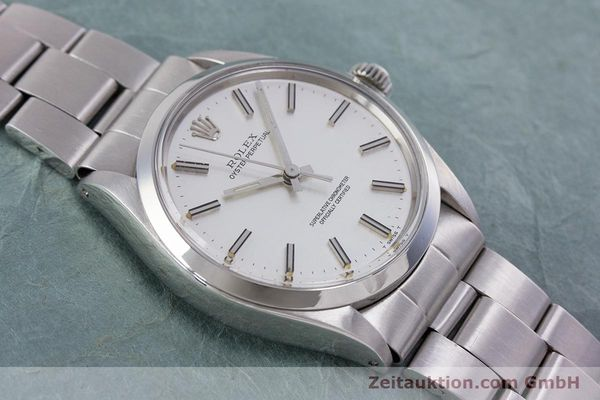 Used luxury watch Rolex Oyster Perpetual steel automatic Kal. 1570 Ref. 1002  | 153233 15