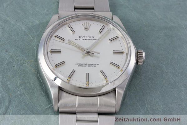 Used luxury watch Rolex Oyster Perpetual steel automatic Kal. 1570 Ref. 1002  | 153233 16