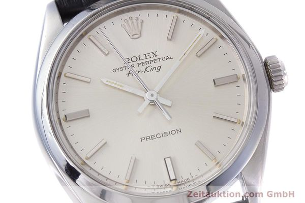 Used luxury watch Rolex Air King steel automatic Kal. 1520 Ref. 5500  | 153234 02