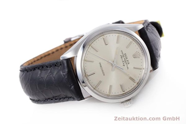 Used luxury watch Rolex Air King steel automatic Kal. 1520 Ref. 5500  | 153234 03