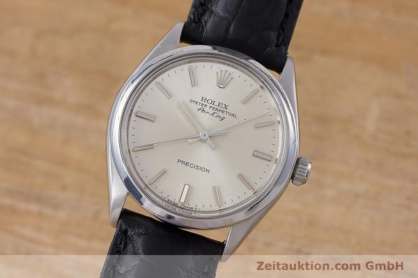 Used luxury watch Rolex Air King steel automatic Kal. 1520 Ref. 5500  | 153234 04