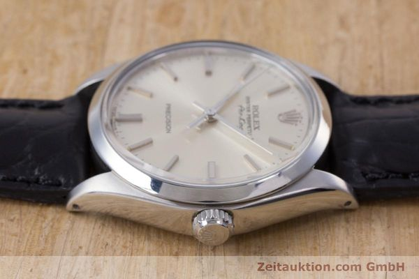 Used luxury watch Rolex Air King steel automatic Kal. 1520 Ref. 5500  | 153234 05